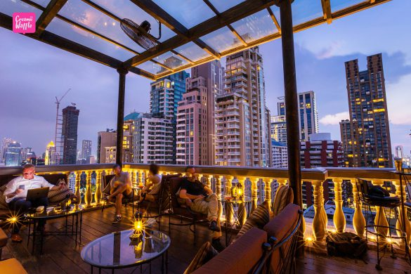 Speakeasy rooftop Bar (Hotel Muse Bangkok)