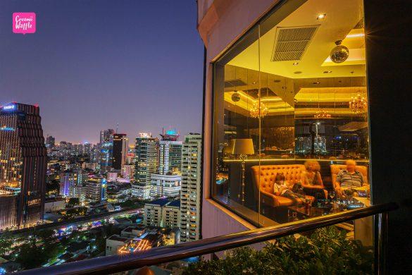 1826 mixology & rooftop bar ชั้น 26 โรงแรม Rembrandt Hotel Bangkok
