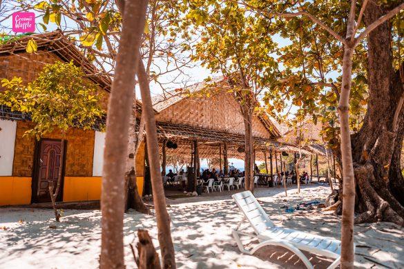 bruer island myanmar จุดพักทานข้าว