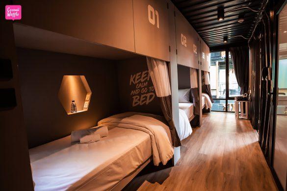 Hivetel Phuket (ไฮฟ์เทล) room