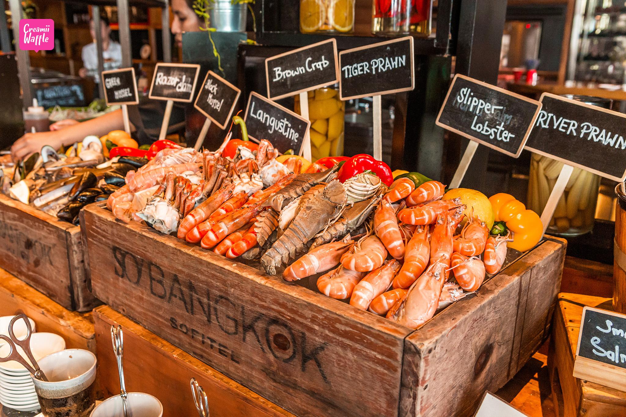 เร้ด โอเว่น Seafood