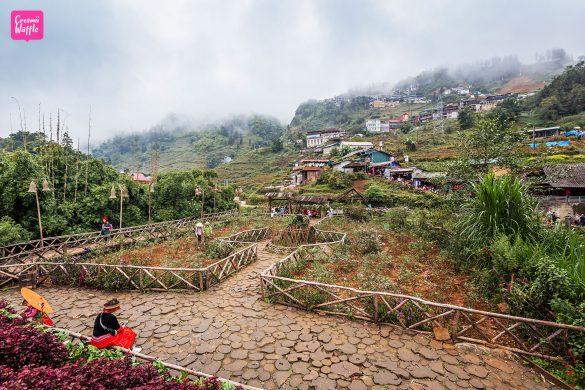 หมู่บ้านชาวเขากั๊ตกั๊ต Cat Cat Village