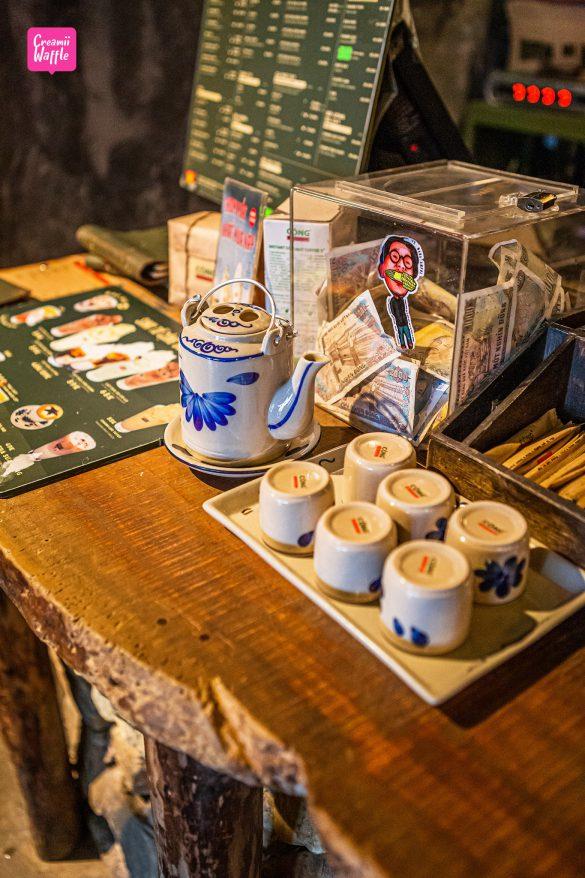Cong Cafe ซาปา เวียดนาม