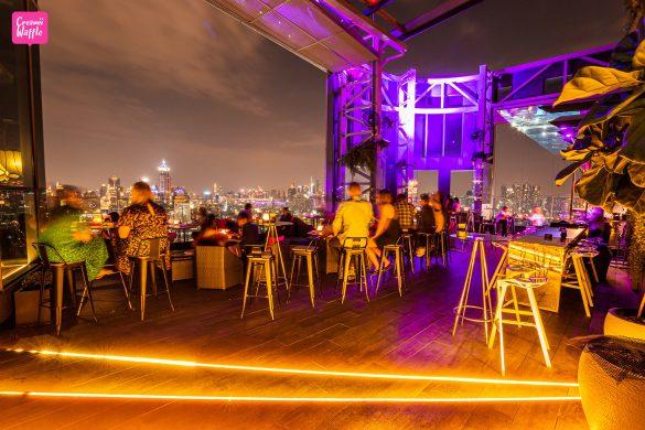 hiso rooftop bar
