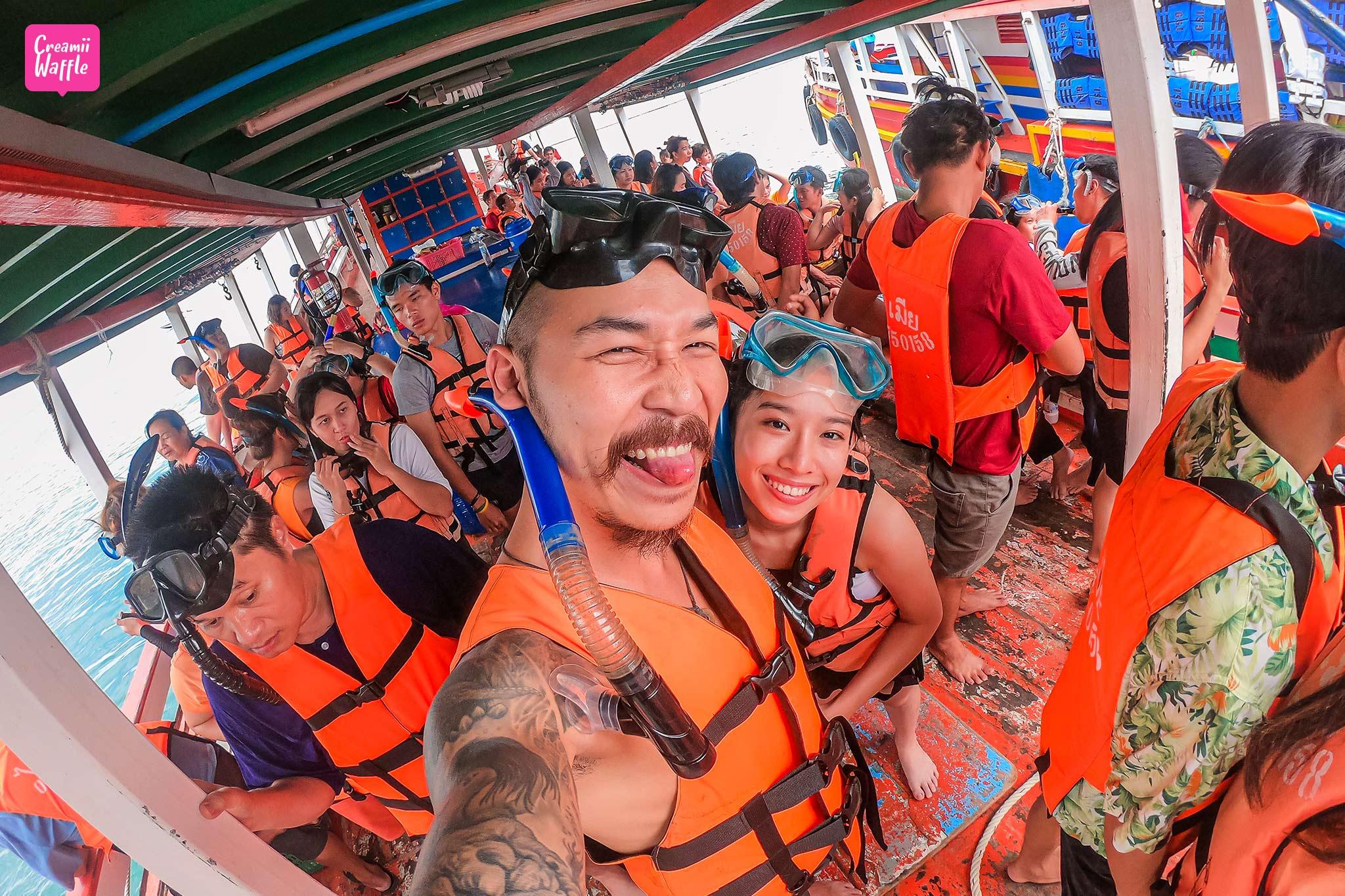 จุดเช็คอินห้ามพลาด เกาะล้าน กิจกรรมดำน้ำสน็อกเกิ้ล (Snorkelling)
