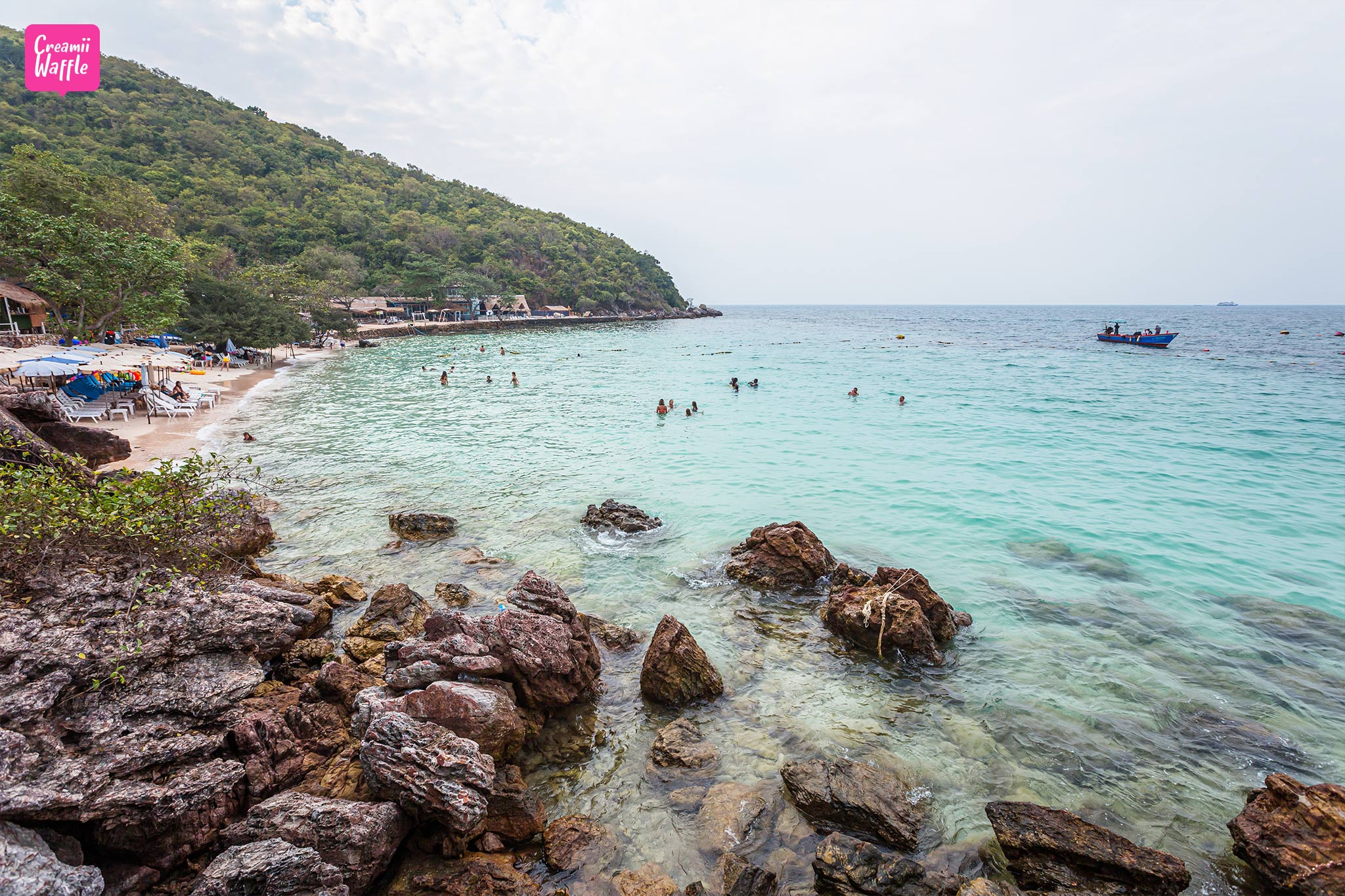เกาะล้าน เกาะฝั่งทะเลอ่าวไทย