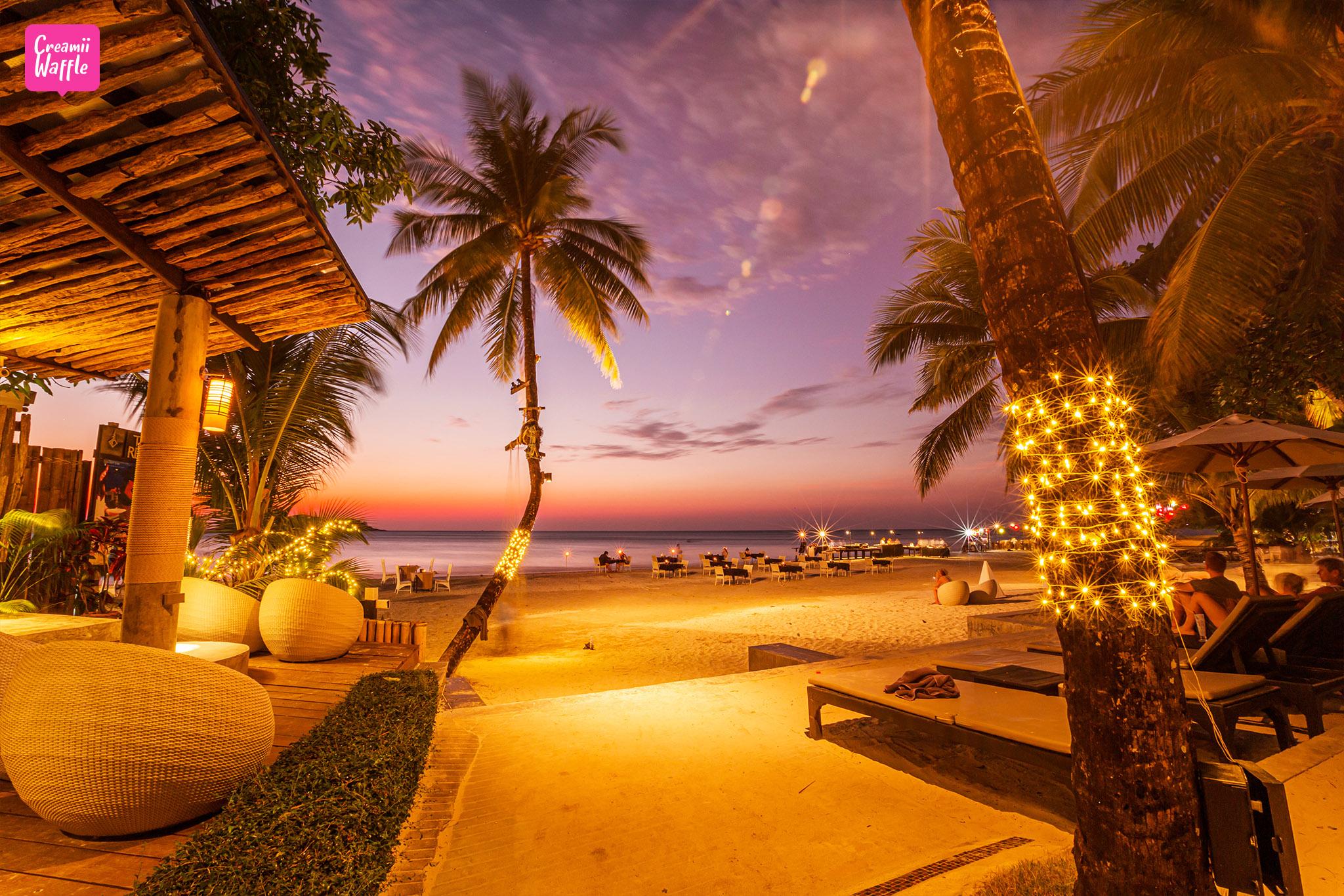 The Dewa Koh Chang Dinner สุดหรู ชมพระอาทิย์ตกริมชายหาด