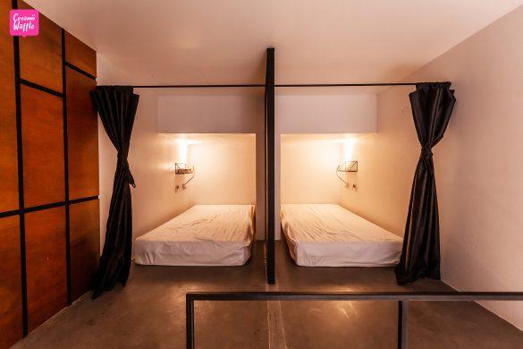 Book a Bed Poshtel ห้องนอน