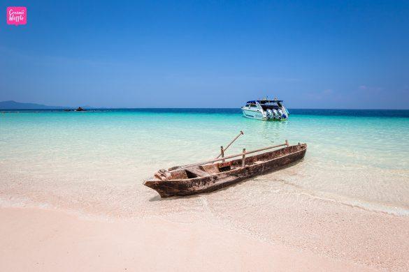 Sali Island ทะเลพม่า