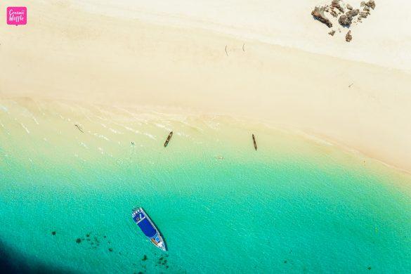 Sali-Island-Top-View-Moken-Boat