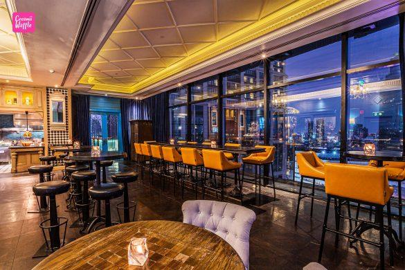 รีวิว Mojjo Rooftop Lounge Bar