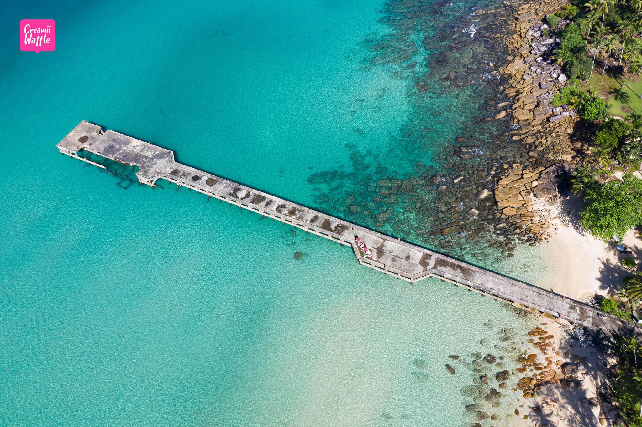 รีวิวเที่ยว เกาะกูด พาราไดซ์ บีช รีสอร์ท สะพานน้ำลึก