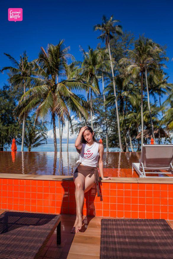 รีวิวเที่ยว เกาะกูด พาราไดซ์ บีช รีสอร์ท Creamii Waffle Travel Blogger