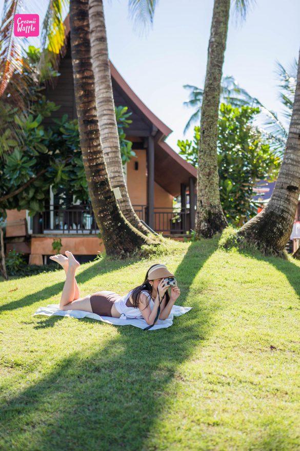 รีวิว เกาะกูด พาราไดซ์ Creamii Waffle Travel Blogger