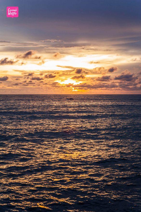 เกาะกูด พาราไดซ์ บีช ชมพระอาทิตย์ตก