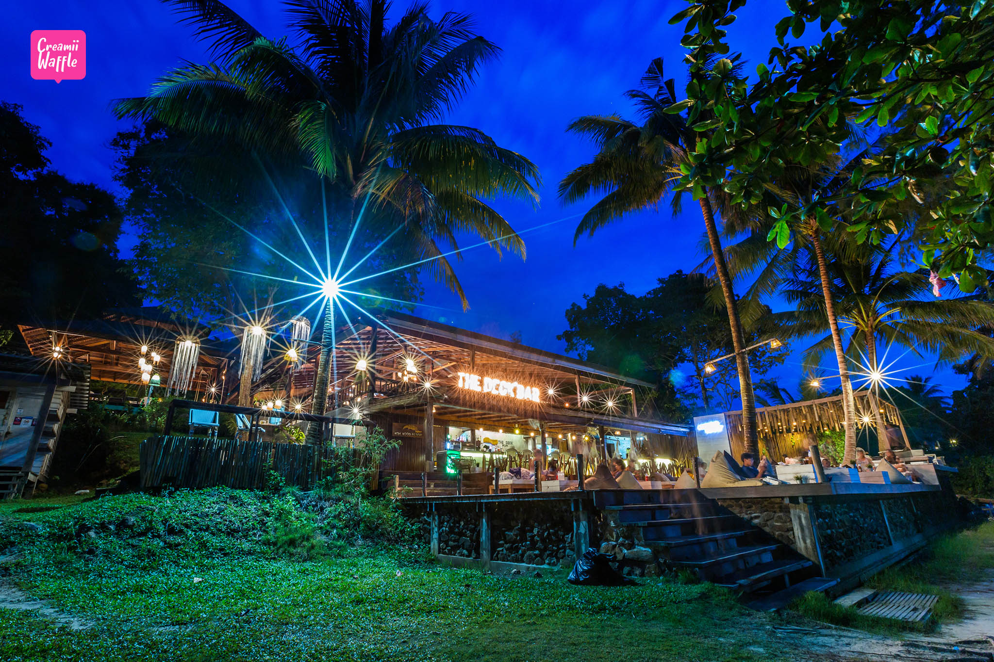 เกาะกูด รีสอร์ท koh kood resort The Deck bar
