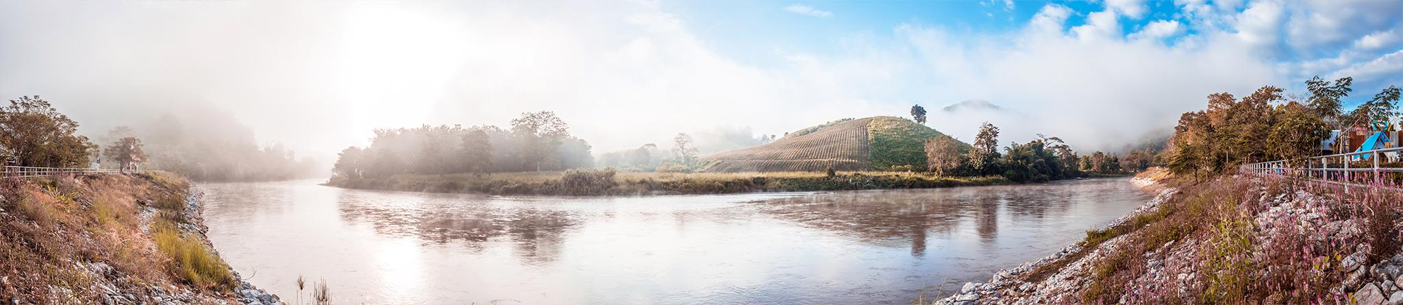 ฮักกก ริมน้ำ panorama