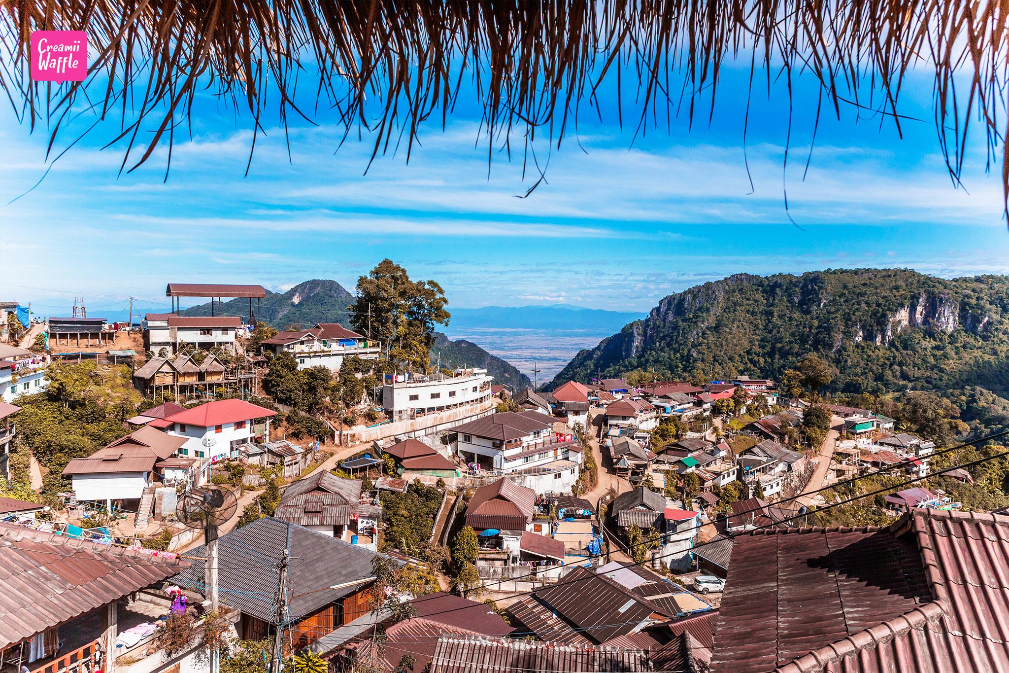 Pha Hee Mountain view