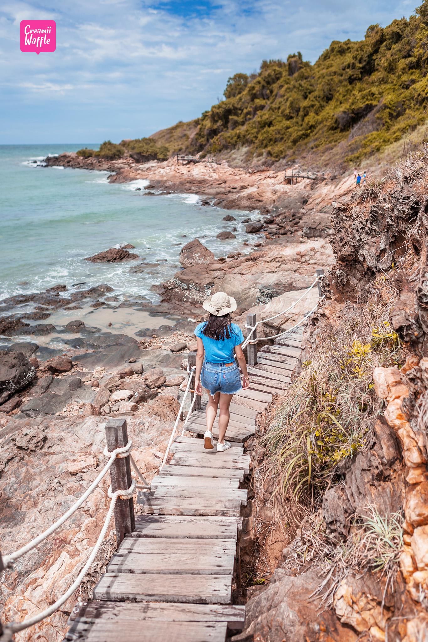 เส้นทางเดินศึกษาธรรมชาติเลียบทะเล