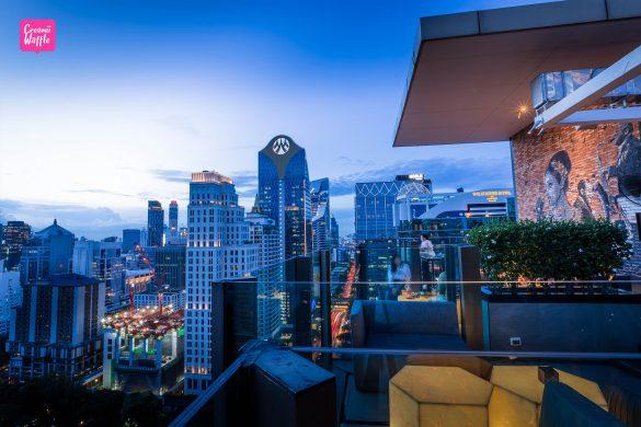 Hotel Indigo Bangkok Wireless Road Roof top