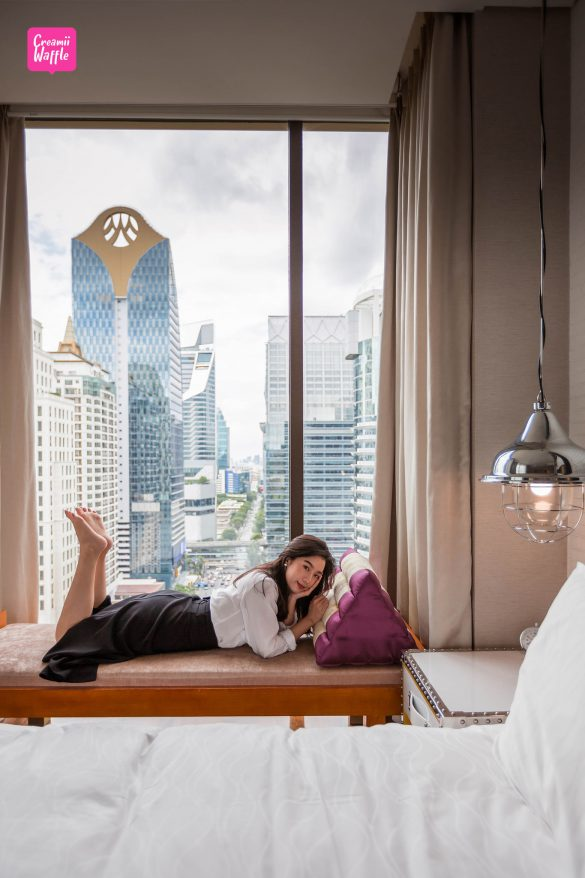 Hotel indigobkk รีวิวโรงแรมอินดิโก ถนนวิทยุ กรุงเทพ