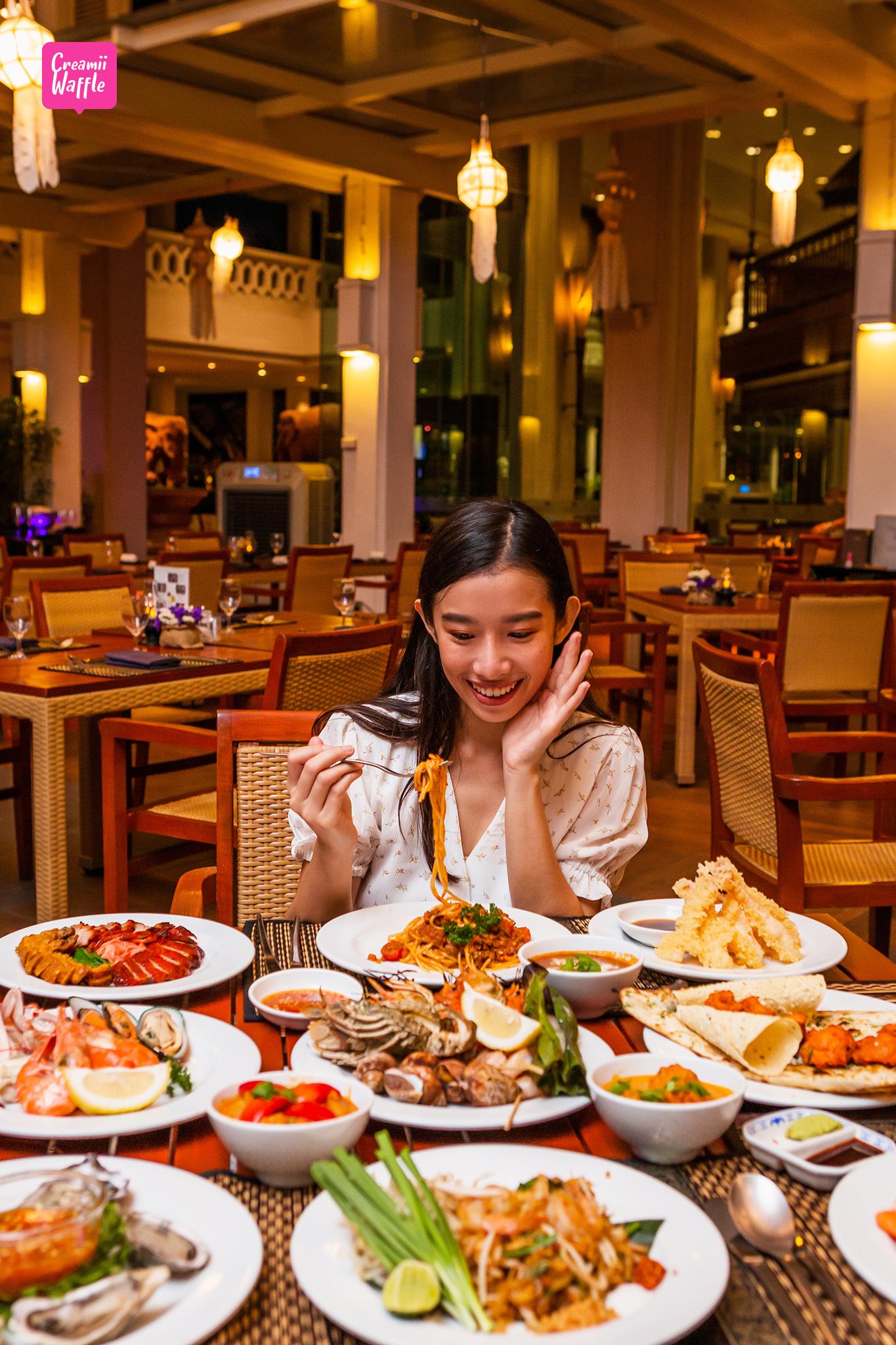Anantara Riverside Resort Buffet Dinner