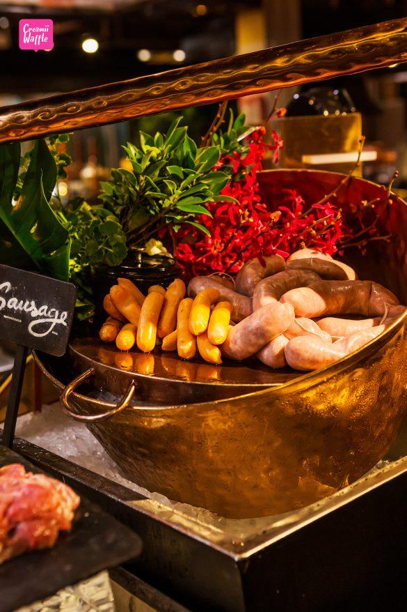 Dinner Buffet at Riverside Terrace