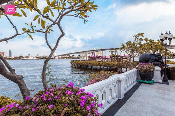 Riverside Terrace Anantara Bangkok Riverside Resort
