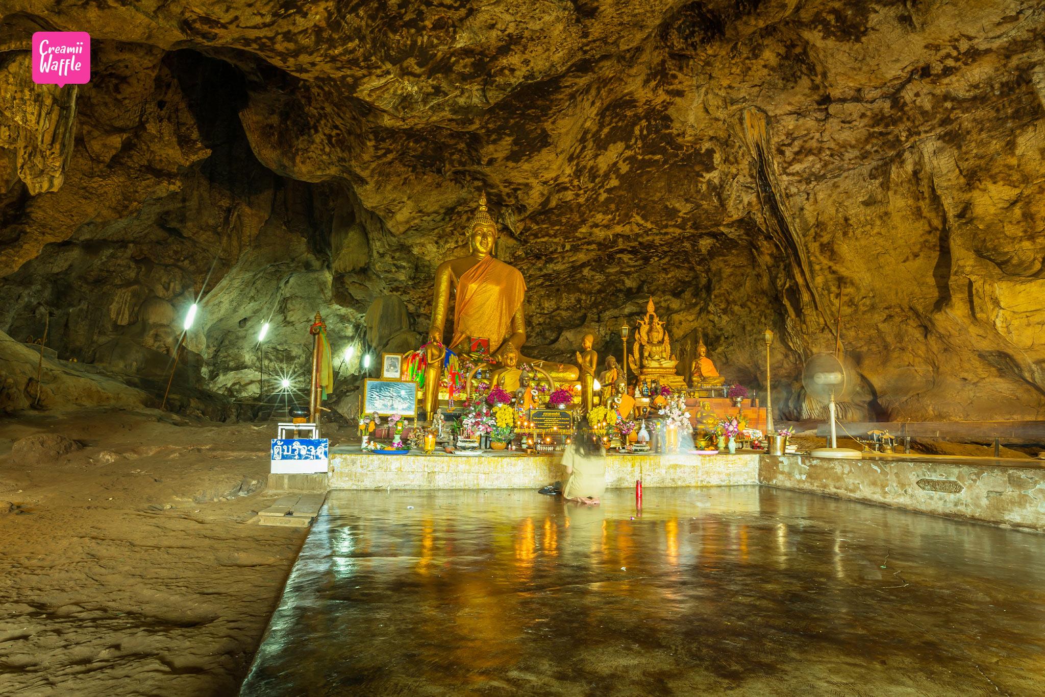 ถ้ำกระแซ ทางรถไฟสายมรณะ กาญจนบุรี รีวิว
