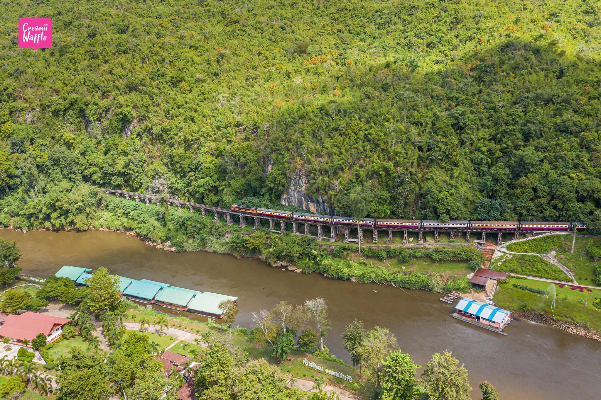 ถ้ำกระแซ ทางรถไฟสายมรณะ – กาญจนบุรี