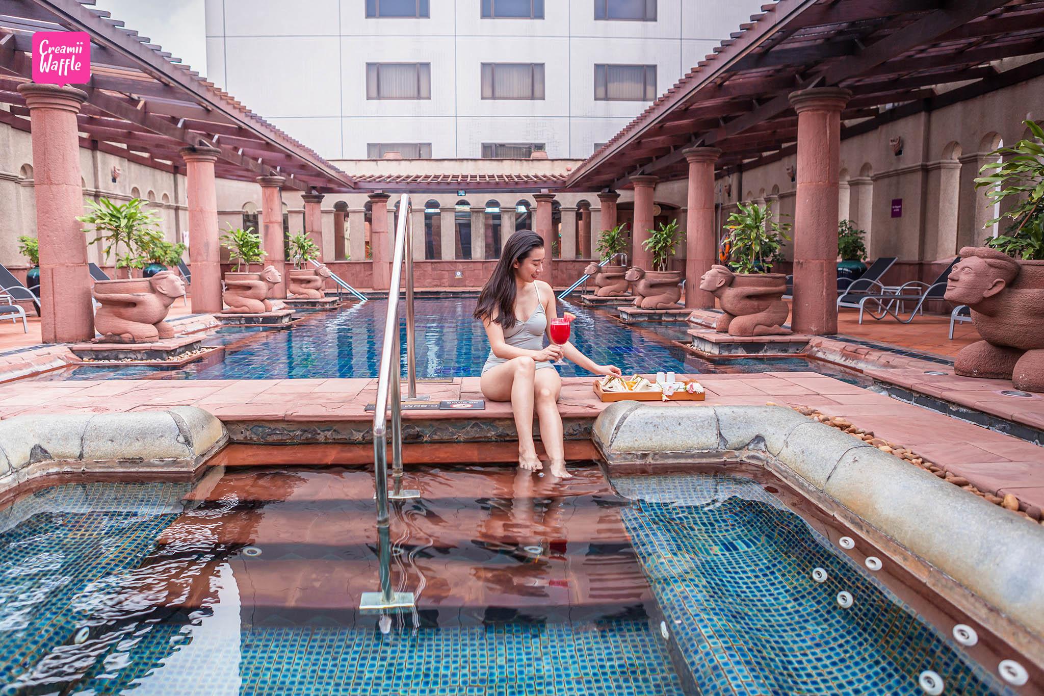 crowneplaza Bangkok รีวิว คราวน์ พลาซ่า