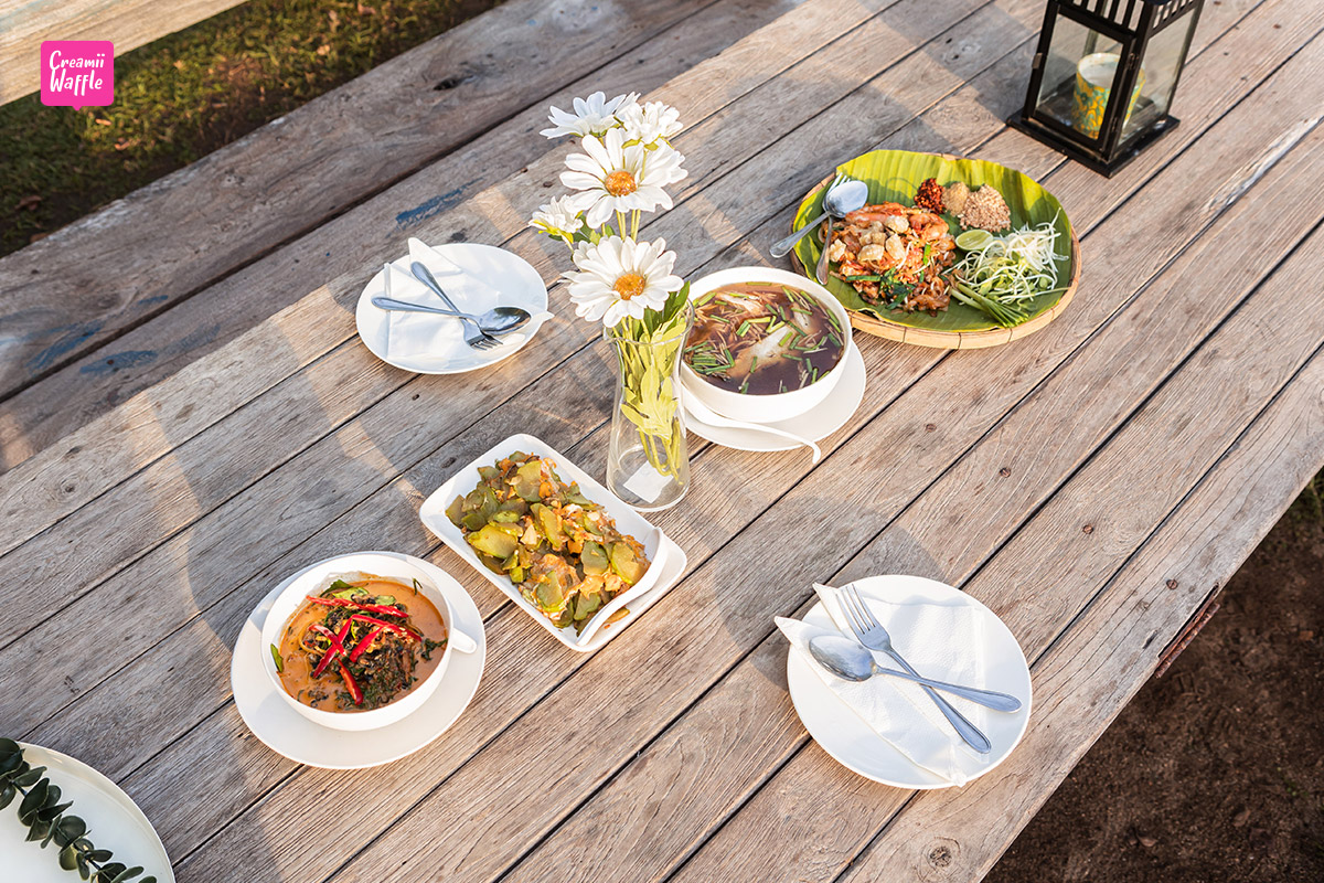 ระเบียงนา คาเฟ่ รีวิว กาญจนบุรี Rabiangna Cafe Kanchanaburi
