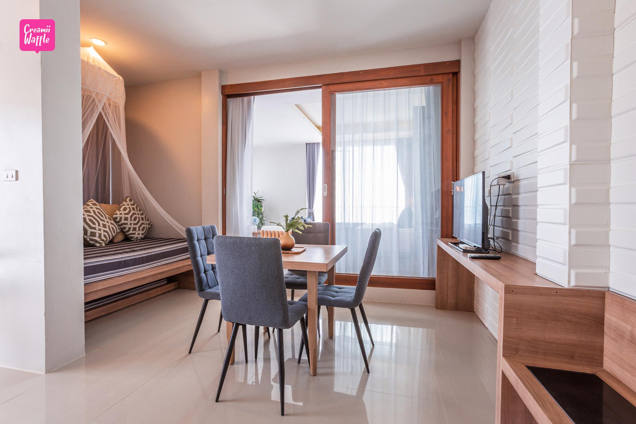 โรงแรม จันทบุรี มัลดีฟส์ บีช รีสอร์ท ที่พักสะอาด